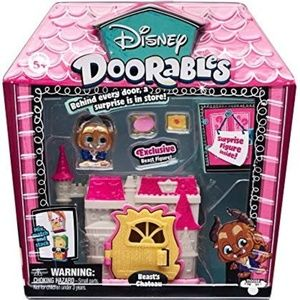 Disney Doorables Playset -Beauty and The Beast